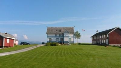 A Norwegian house.